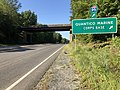 2019-08-12 09 46 03 View south along U.S. Route 1 (Jefferson Davis Highway) at the exit for Quantico Marine Corps Base in Prince William County, Virginia.jpg