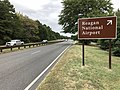 2019-09-13 16 01 41 View north along the George Washington Memorial Parkway at the exit for Reagan National Airport in Arlington County, Virginia.jpg