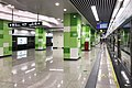 20200116 Platform of Zhengzhou Metro Qilihe Station 02.jpg