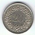 20 Centesimi di Franco Svizzero 03.jpg