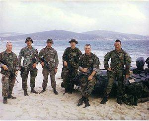 Radio Reconnaissance Platoon - The RRT of the 22nd MEU(SOC), Tunisia, 1997