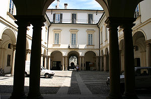 Giuseppe Piermarini - Cortile of Palazzo Greppi, Milan (1776)