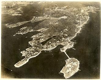 John Mason (c. 1600–1672) - Masons Island circa 1950