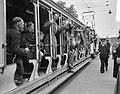 25 jaar Ned Ver van Belangstellenden in Spoor- en Tramwezen met ouderwetse ope, Bestanddeelnr 907-8282.jpg