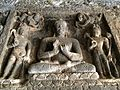 2 medidating Buddha at Aurangabad Buddhist Caves.jpg