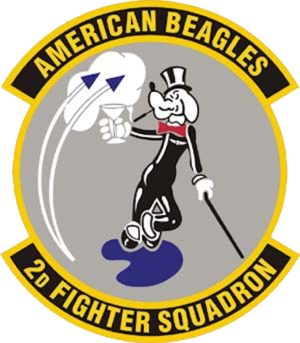 2d Fighter Training Squadron - Image: 2d Fighter Squadron Emblem