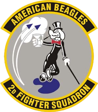 2d Fighter Training Squadron - Image: 2d Fighter Squadron Emblem