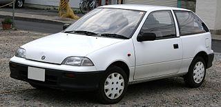 Suzuki Cultus Supermini car