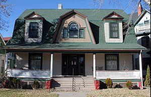 Boulder Crescent Place Historic District - Image: 318 North Cascade Avenue Boulder Crescent Place Historic District