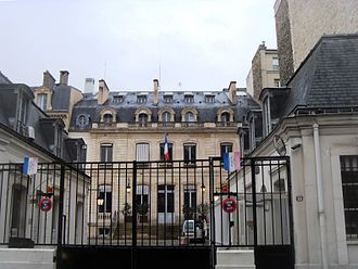 Île-de-France - Seat of the regional council of Île-de-France in Paris (2008)