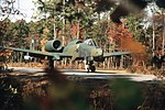 354th TFW A-10 with parked on Myrtle Beach AAF hardstand.jpg