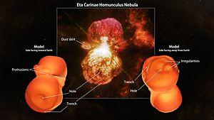 Homunculus Nebula - A 3D model of the Homunculus Nebula.