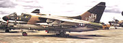 3d Tactical Fighter Squadron Ling-Temco-Vought A-7D-10-CV Corsair II 71-0309
