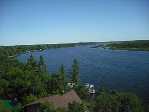 Pike Lake Provincial Park - Image: 65 Feet View