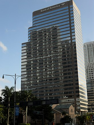 701 Brickell Avenue - Image: 701 Brickell Avenue (Lincoln Center) from the north