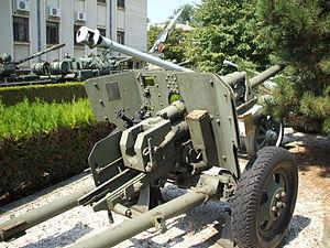 75 mm Reșița Model 1943 - DT-UDR 26 close-up view