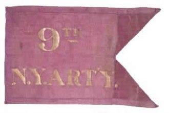 9th New York Heavy Artillery Regiment - 9th New York Heavy Artillery Flank Marker