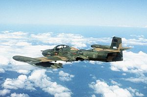 Honduran Air Force -  A Honduran Air Force A-37