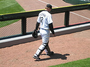 A. J. Pierzynski, Chicago White Sox catcher. I...