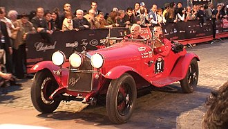 1930 24 Hours of Le Mans - Alfa Romeo 6C-1750 SS