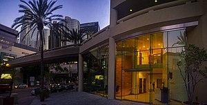American University Preparatory School - Front of School Building in Downtown Los Angeles.