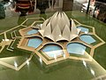 A 2.4 suare feet model of lotus temple for sale at lotus temple, delhi.jpg