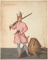 "A Janissary ""of War"" with a Lion MET DP146518.jpg"