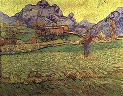 Vincent van Gogh: A Meadow in the Mountains: Le Mas de Saint-Paul