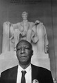 A Philip Randolph, photographed on the day of the March on Washington, 1963. Photograph by Rowland Scherman.tif