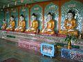 A few Buddhas @ U Min Thonze - Myanmar, Burma (3748611368).jpg