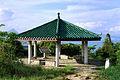 A hexagonal pavilion at Chek Lap Kok Scenic Hill.jpg