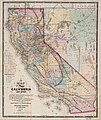 A new map of the States of California and Nevada, exhibiting the rivers, lakes, bays, and islands, with the principal towns, roads, railroads, and transit routes to the silver mining districts; also LOC 78691707.jpg