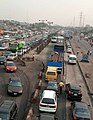 A photo of Lagos traffic gridlock along Ojodu Berger to Ikeja on 27th February 2020.jpg