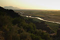A view of sun set on Tilla Jogian from Rohtas by Usman Ghani.jpg