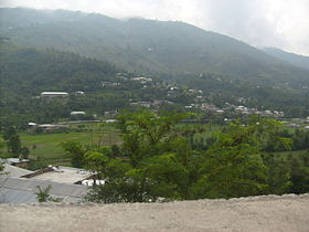 A view of village chappargram from kandar.JPG