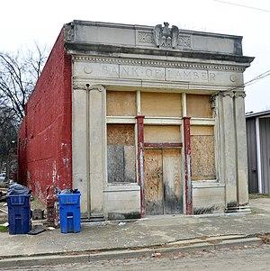 Lambert, Mississippi - Image: Abandoned bank in Lambert, Mississippi