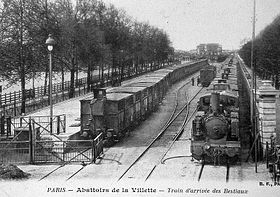 image illustrative de l'article Gare de Paris-Bestiaux