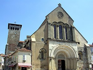 Saint-Sever - Abbey church