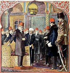 Afschaffing van het kalifaat, The Last Caliph, Le Petit Journal illustré, 16 maart 1924.jpg