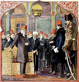 Abolition of the Caliphate Event in Turkey in 1924