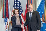 Acting U.S. Secretary of Defense meets with French Minister of the Armed Forces Parly 190318-D-SV709-231.jpg