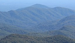 Adams Mountain, NC viewed from Beacon Heights, Oct 2016.jpg