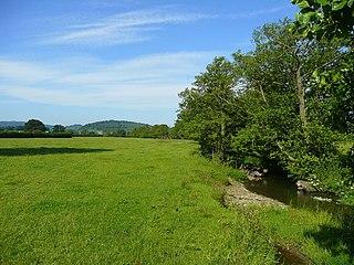 Buckton and Coxall civil parish in north Herefordshire, England