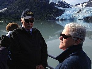 Gina McCarthy - Administrator Gina McCarthy at Portage Lake Glacier, Alaska, August 26, 2013