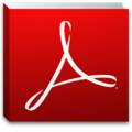 Adobe Reader X icon.png