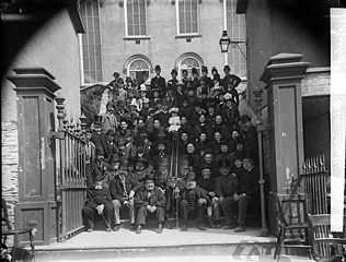 Adults of Taberncale Chapel (CM), Aberdyfi