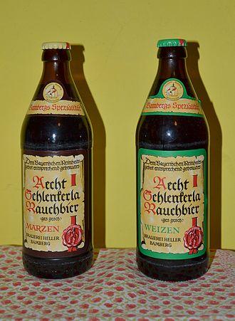 Smoked beer - Bamberg smoked beers