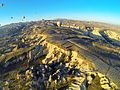 Aerial view of Cappadocia from hot air balloon 9352 Compressor rot.jpg