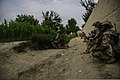 Afghan and coalition forces security force members participate in an operation in the Khost district of Khost province, Afghanistan, Aug. 21, 2013 130821-A-HD451-064.jpg