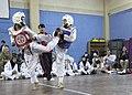 Afghan youth taekwondo team shows ISAF kickin' good time DVIDS477548.jpg